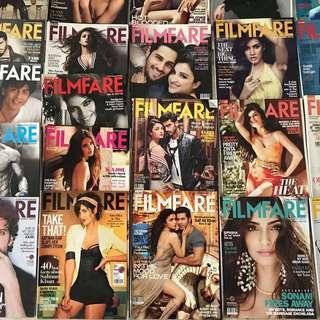 Filmfare magazines (2013-2015)