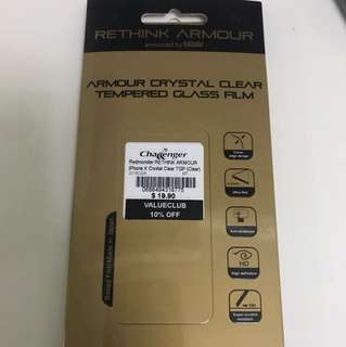 Amour Crystal Clear Tempered Glass Film