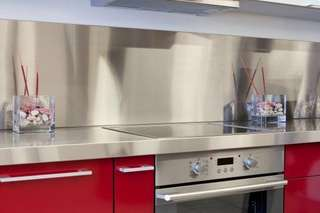 Stainless Steel Backing (Kitchen Stove)