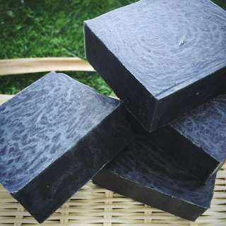 LAFS Bamboo Charcoal Soap (Deep Cleansing,  Oil & Acne Control)