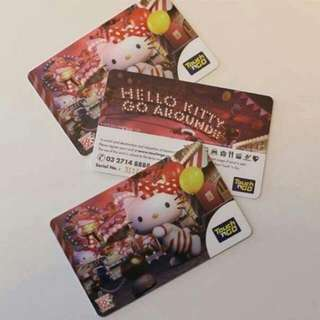 Limited edition Hello Kitty Touch n Go Card