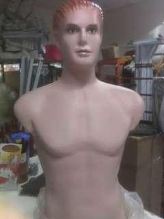 Manekin setengah badan+kepala pria