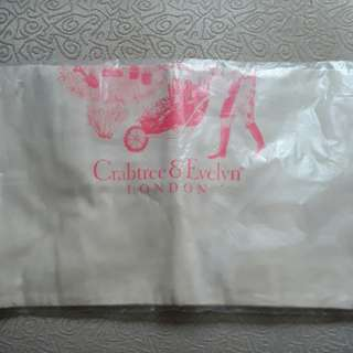 Crabtree Evelyn Canvas A4 Bag