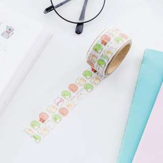 Only 1 Instock! (Mix & Match)*San-X Japan - Sumikko Gurashii Die-Cut Washi Tape Set (Pattern)