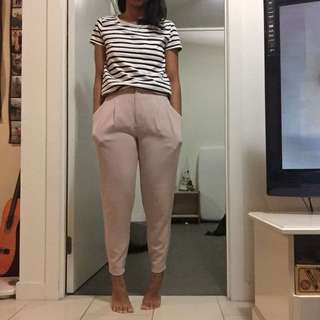 Uniqlo cream pants
