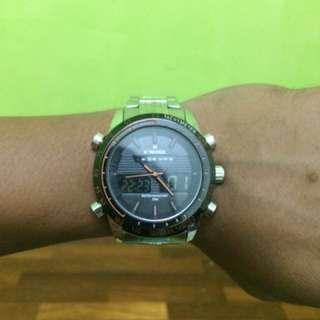Naviforce analog n digital watch