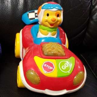 Vtech press-and-go zoom zoom racer