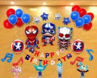 Birthday party pack DIY
