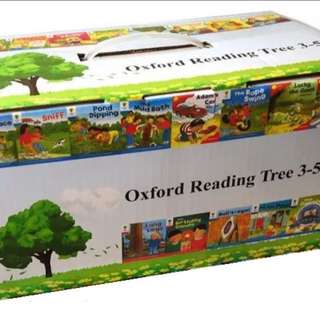 Oxford Reading Tree Level 3~5 (136 books)