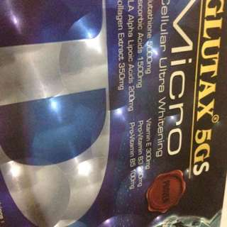 REPRICED: Glutax 5GS with FREE Collagen