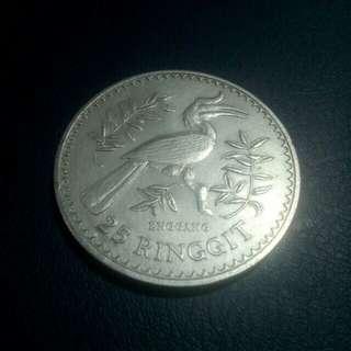 Coin $25 Enggang