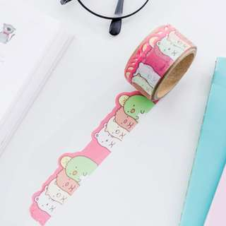 Only 1 Instock! (Mix & Match)*San-X Japan - Sumikko Gurashii Die-Cut Washi Tape Set (Pink)