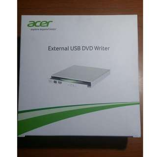 Brand New (Sealed) ACER External USB DVD Drive