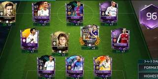 Fifa Mobile Account (with 20 million coins)