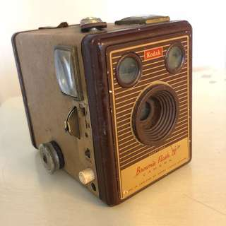 Antique Camera Kodak Brownie Flash IV