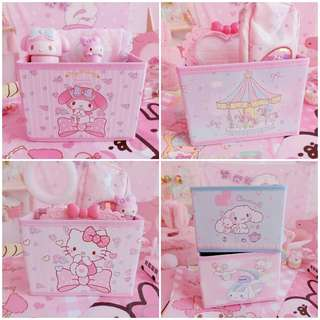 [PO] Cartoon PU Storage Box