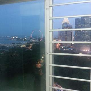 BUGIS/NICOLL HIGHWAY MRT, 2+1 THE PLAZA APT BEACH RD FOR RENT, PANORAMIC SPORE FLYER & SEA VIEW.