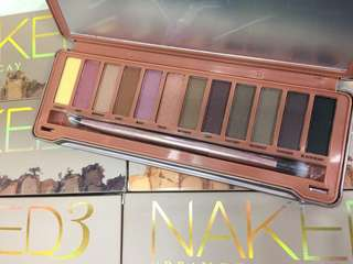 Naked 3 Urban Decay eyeshadow palette