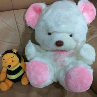 Cute Bear Soft Toy + free gift