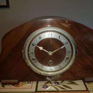 Eight Days Canterbury Clock, well kept and working antique clock bought from overseas 20 years ago.  PM for more information.