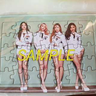 Mamamoo Moosical DVD official puzzle