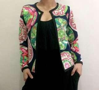 Colorful Bolero Jacket