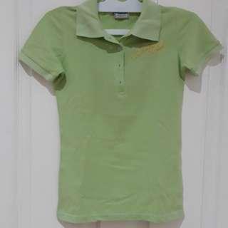 Kaos pooh hijau