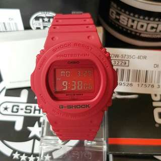 G-Shock Red Edition DW 5735C-4DR