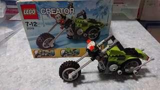 Lego#31018三合一電單車。