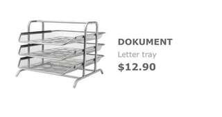 IKEA DOKUMENT - Letter Tray