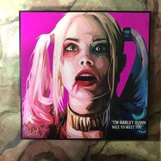 掛畫  漫畫 裝飾品 Suicide Squad & Harley Quin 小丑女 DC