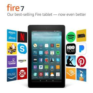 "Not for nego / amazon kindle Fire 7 Tablet with Alexa, 7"" Display, 8 GB, Black - with Special Offers"