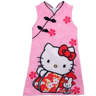 (Pre-order) Kids Princess Dress (Hello Kitty) #511
