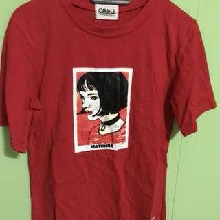 Ulzzang red shirt