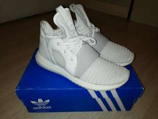 Adidas Originals Tubular Defiant Shoes (Crystal white)