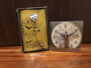 Clock and Notebook Set