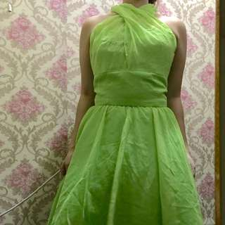 Tinkerbell cocktail gown