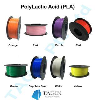 PLA 3D Filaments , 22 Colors, 1kg (1.75mm)