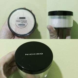 Nichido final powder (creamy glow)