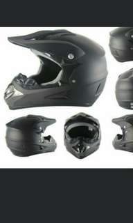 electric scooter full face helmet / mtb helmet / dirt bike helmet / fullface helmet matt black