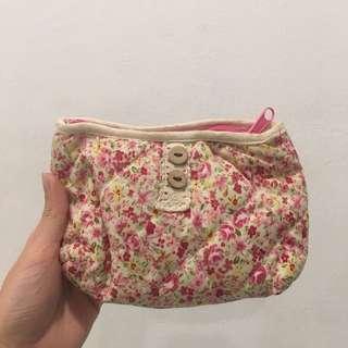 Floral coins purse pouch
