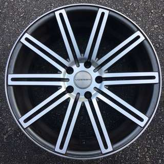 "20"" staggered rims for BMW E60 and E65 models"