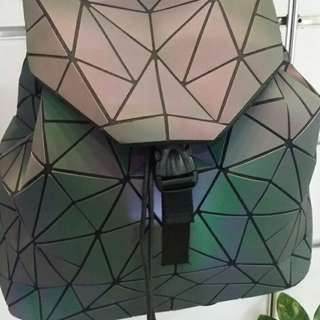 Issey Miyake Bao Bao Luminous Geometric Quilted Backpack