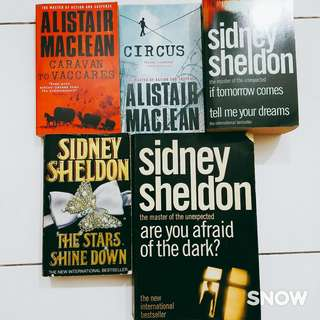 Murder/Crime/Fiction books