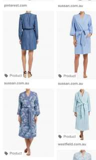 Dressing Gown Loungewear Pyjamas Sleepwear