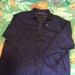 Lacoste navy coat