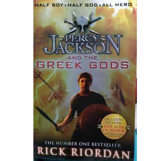 Percy jackson : The greek gods