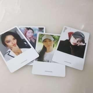 Mamamoo Official Photocards