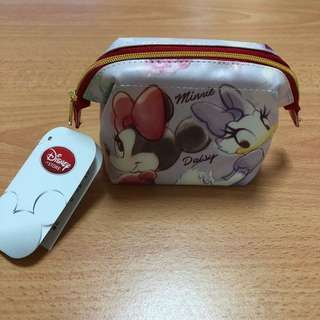 Minnie and Daisy pouch