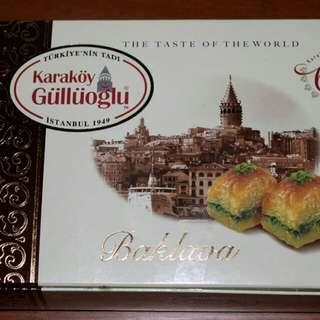 Baklava karakoy turki